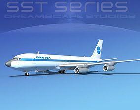Boeing 707-320 SS Pan American 1 3D