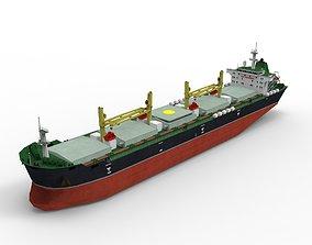 3D asset realtime Bulk carrier 02