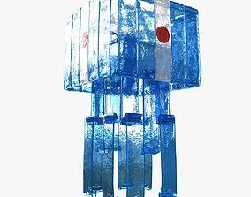 3D model Laguna Murano Glass Chandelier by Renato Toso 4