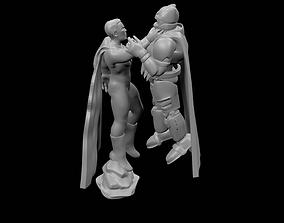 Batman VS Superman 3D print model