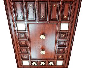 3D Ceiling set - wenge color