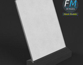 Table tent template 6 3D