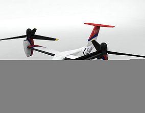 Bell Agusta BA 609 VTOL Aircraft 3D model