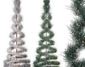 park 3D model Spruce Tree
