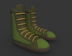 3D model Boots Green
