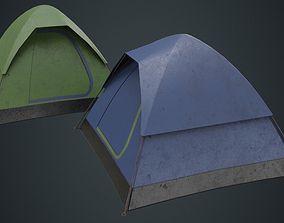 Camping Tent 2B 3D model