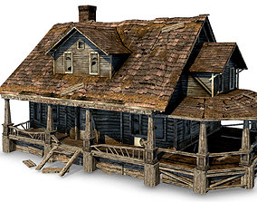 3D model Old Abandoned House