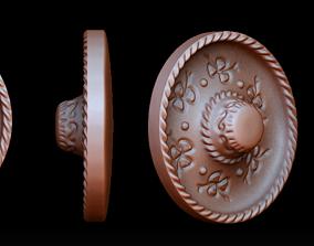 3D print model Mexican hat pendant
