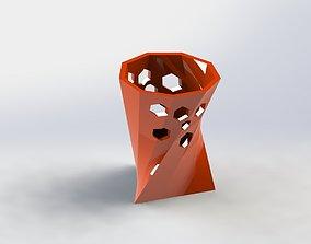 Decorative Flower Pot 28 3D printable model