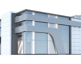 3D Office Building 3