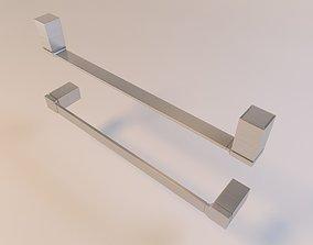 3D model Moen 90 Degree Towel Bar