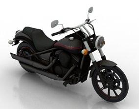 3D Kawasaki vn 900