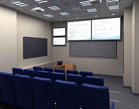 3D asset Presentation Room Auditorium