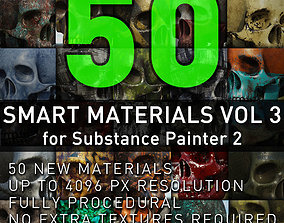 Substance Painter Smart Materials Vol 3 3D textures