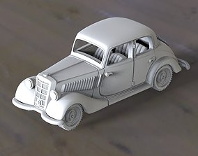 mercedes 3D printable model