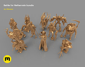Nethervain bundle 3D print model