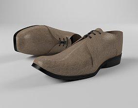 3D asset Realistic shoe