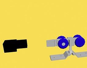 rollers for sliding door 3D