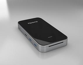Tooyn Macbook Charger 3D model