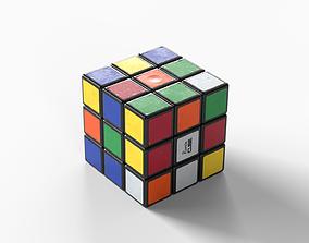 3D asset Low-poly PBR Rubiks Cube