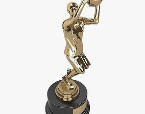 3D BasketBall Trophy