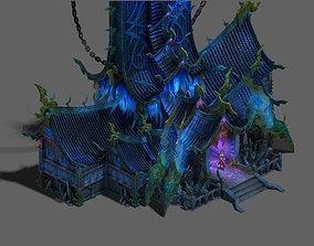 Magic territory - the main hall 3D model
