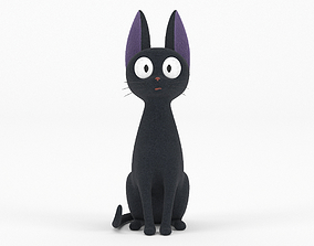 3D model Jiji Black Cat Toy