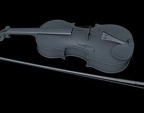 Violino 3D asset realtime