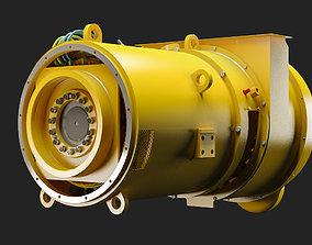 Electric Alternator - Alternador Electrico 3D