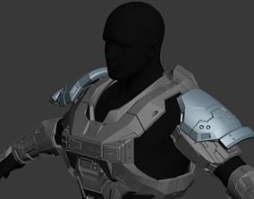 Reach Gungnir Shoulder Wearable 3D Print Model