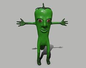 Hot Pepper 3D model