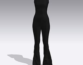 look 3D model JUMPSUIT
