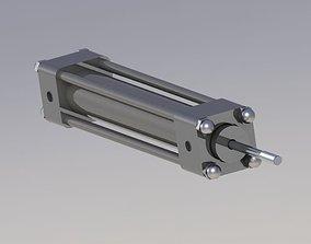 3D model Pneumatic Cilinder