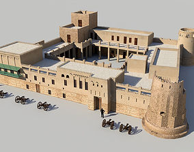 Sharjah Fort 3D model