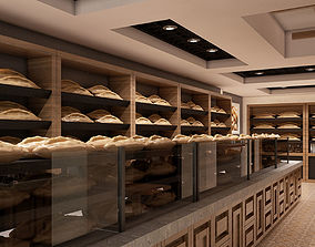 3D Bagel Bakery Interior 001 V2