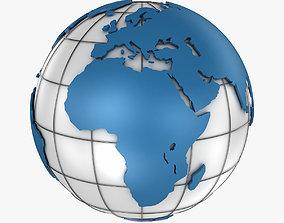 Blue Earth 3D model