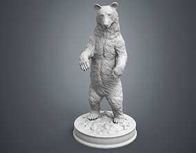 3D printable model Black Bear Sculpture