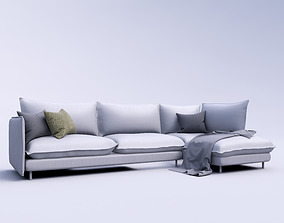 3D rigged Sofa Revit High Quality