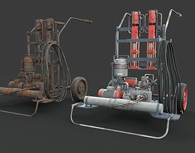 Portable machinery device 3D model