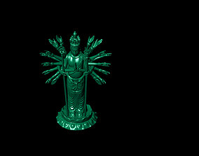 3D print model Buddha with thousand eyes and thousand