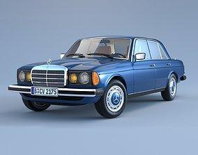 Mercedes-Benz W123 E-Class 3D model
