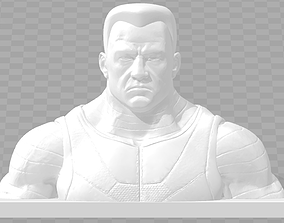 Marvel Colossus bust 3D printable model