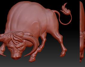 3D model bull 3D printing