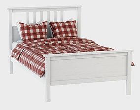 Bed Hemnes Ikea 3D model