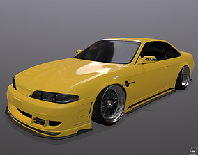 Nissan Silvia S14 326 Power 3D-Star bodykit low-poly