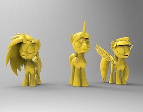 applejack pony for 3D printing