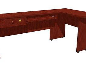 3D asset Office Desk model