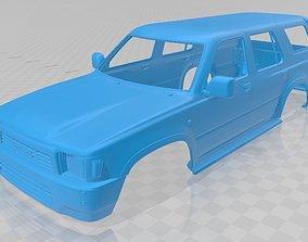 Toyota Runner 1989 Printable Body Car crawler