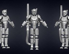 3D print model Mandalorian Heavy Armor