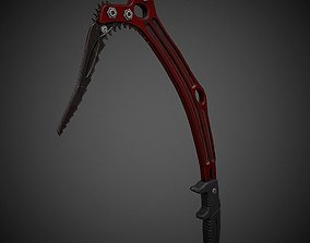 3D asset Realistic Ice Axe Low Poly PBR